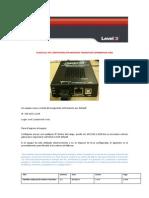 Plantilla de Configuración Modems Transition Rev1.1