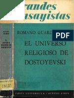 El Universo Religioso de Dostoyevski - Romano Guardini