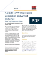 A Guide for Workers with Conviction and Arrest Histories