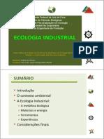 Ecologia Industrial Márcio