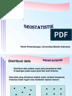 Kuliah Kedua Geostatistik (1)