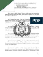 DS0530 Modificación a La Tasa de Interés Penal