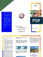 Triptico 2 - Salud Visual
