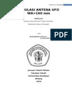 Antena Ufo Simulation Ie3d