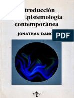 Dancy_Introduccion a La Epistemologia Contemporanea
