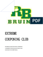 rbhs extreme couponing club constitution 2014-2015