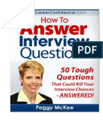 How to Answer Interview Questions Top50