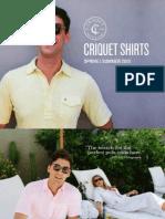 Criquet Shirts   Spring Summer 2015 Lookbook