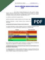 Data IRAM 2507 Ident Cañerias COLORES
