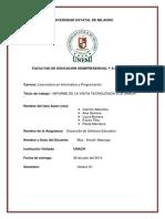 Informe de Software Educativo