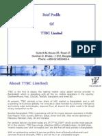 TTBC Corporate Profile 2013