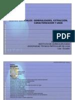 Utpl Ingenieria Quimica 2008 Aceites Esenciales