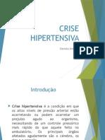 Crise Hipertensiva