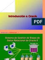 Introduccion a Oracle