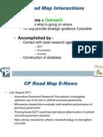 CP Road Map Track Slides