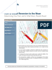 How to Model Reversion to the Mean
