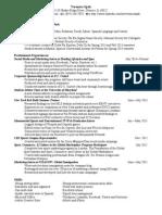 Vspak Resume Aug2014