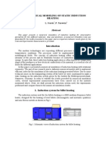 Numerical Modeling of Static Induction Heating