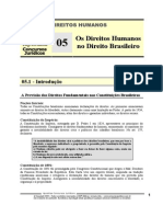 HUM 05 - Os Direitos Humanos No Direito Brasileiro