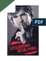 Sebestyen Balazs - Szigoruan Bizalmas