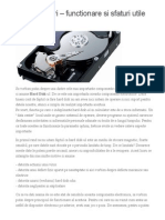 Hard Disk-uri – functionare si sfaturi utile