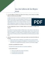 Cuestionario Reyes Cronicas