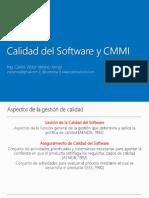 Calidad Del Software y CMMI