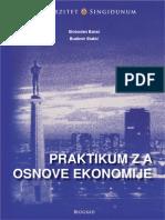 US - Praktikum Za Osnove Ekonomije