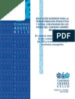 Comercio Mundial de Bienes de Alta Tecnologia y La Transformacion de Economias Emergentes El Gran Desafio de America Latina