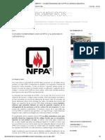 ____TODO BOMBEROS_____ Conceptos Fundamentales Sobre La NFPA y Su Actividad en Latinoamérica