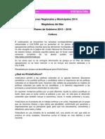La cultura en los planes de gobierno de los candidatos y candidatas a la alcaldía de Magdalena del Mar, Lima, Perú