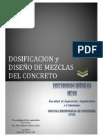Dosificacionodiseodemezcla - Univ. SIPAN
