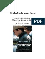Secreto en La Montaña - Annie Proulx