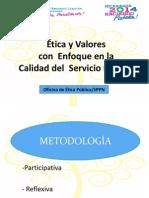 Etica y Valores 2014