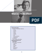 What is a Media Effect  (2012)