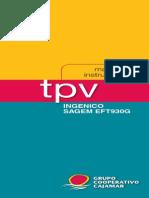 DATAFONO Ingenico Sagem Eft930