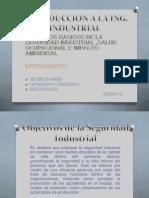 Objetivos de La Seguridad Industrial