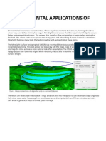 Environmental Applications of MineSight