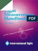 Alex Ryer Light Measurement Handbook