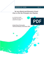 02 Water as a Social and Economic Good. How to Put the Principle Into Practice (1998) English