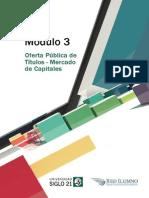 M3 - L13 - Mercado de Capitales