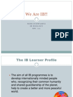 ib learning profile ppt