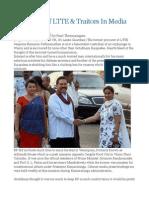 Turncoats of LTTE & Traitors in Media
