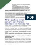 Carretera Tacna Collpa