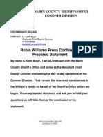 Robin Williams - Press Conference Transcription