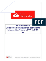 DDR- Documento Definición de Requisitos LBTR-AS400(VersiónFinal)