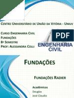 Trabalho Fundações Radier