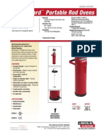 08 Estufas y Hornos Para Electrodos y Flux Soldaelectric Lincoln Electric Asturias