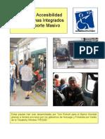 Pautas de Accesibilidad Para Sistemas Integrados de Transporte Masivo