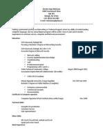 amede-matsiona resume2014